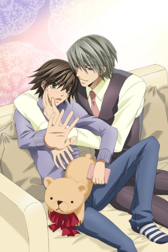 Copyright for Junjo Romantica: Junjo Romantica copyright: (c) 2008 Shungiku NAKAMURA_KADOKAWASHOTEN/Romantica Club!!