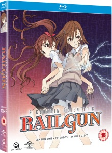 A Certain Scientific Railgun Blu-Ray