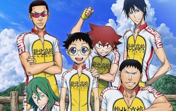 Yowamushi Pedal 1