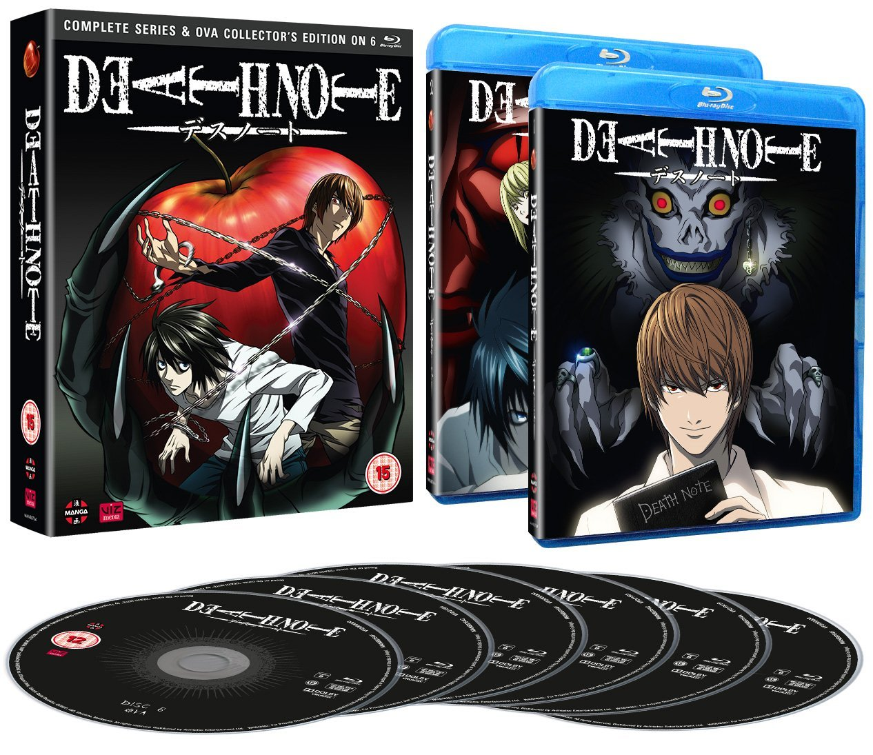 Review Of Death Note: Blu-Ray Collection